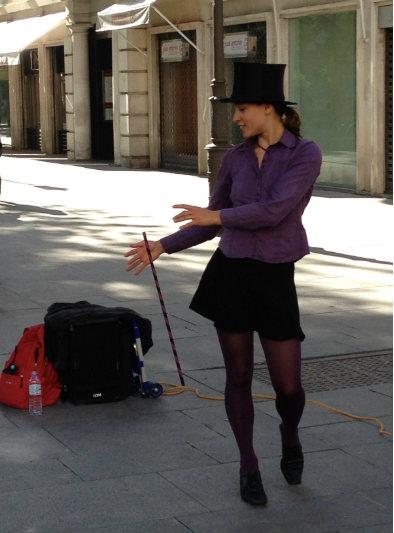 Un domingo a la tarde en las calles de Sevilla