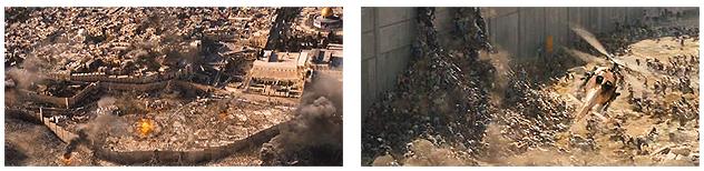 Fotogramas de la película 'Guerra Mundial Z' (Marc Forster, 2013)