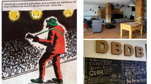 """Ilustración de """"El Roto"""" / Imágenes de Dabadaba, Donostia - San Sebastián"""