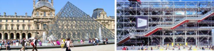 louvre pompidou blog